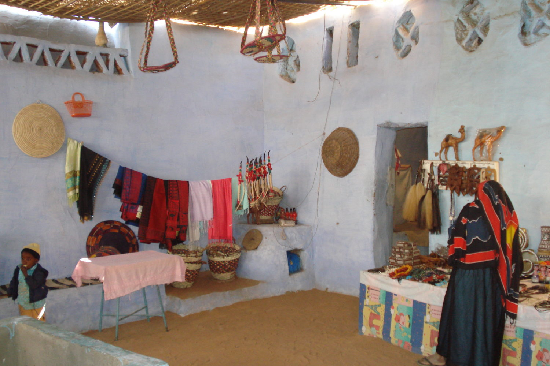 Interior vivienda Oasis del Fayum-www.visitasguiadasegipto.com