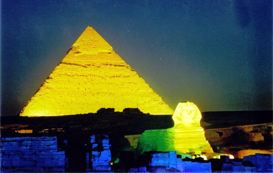 Espectáculo Luz y Sonido El Cairo -www.visitasguiadasegipto.com