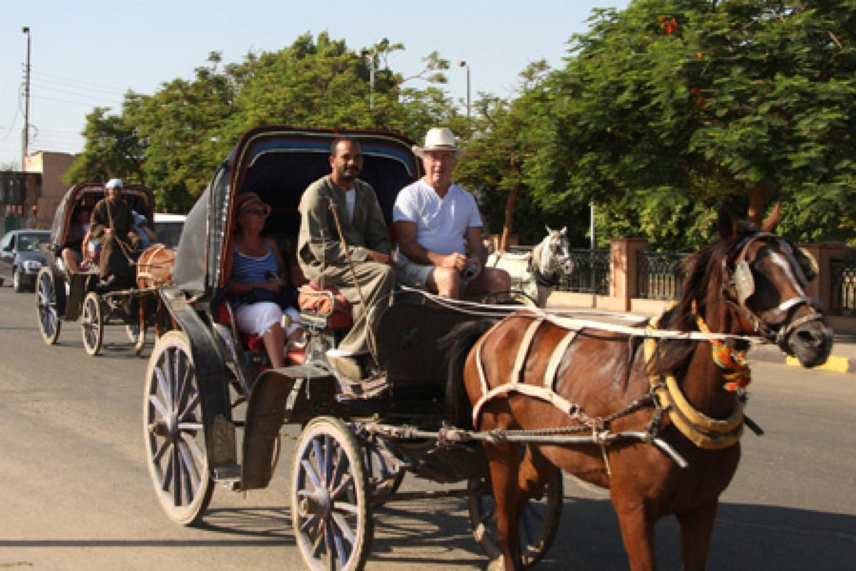 Paseo en calesa en Luxor-www.visitasguiadasegipto.com