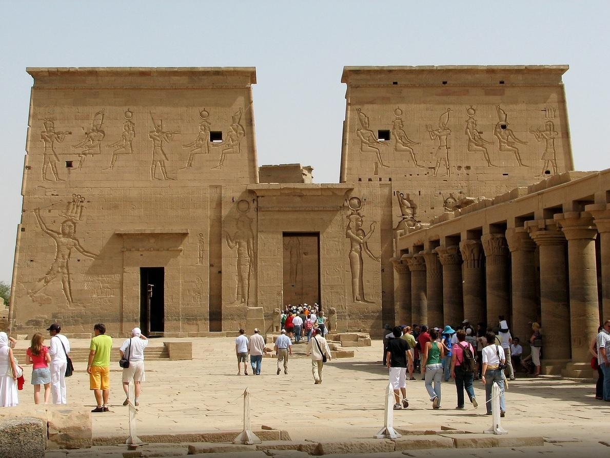 Templo de Philae -www.visitasguiadasegipto.com