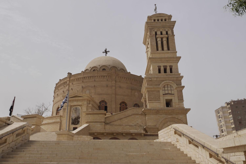 Iglesia de San Jorge. Visitasguiadasegipto