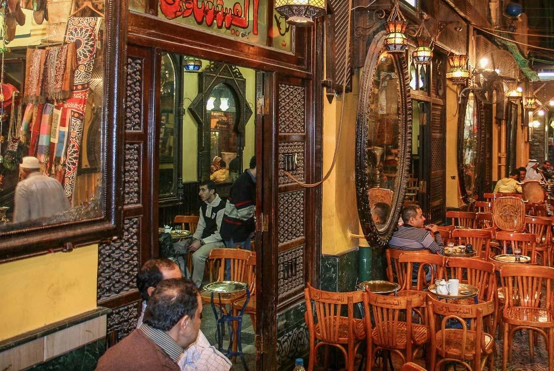 Cafe de los Espejos-El Fishawy