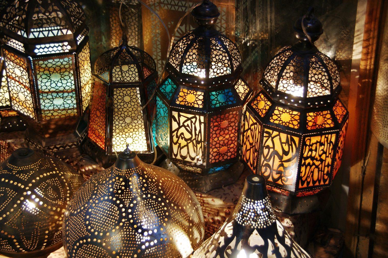 Faroles Bazar Nocturno. El Cairo